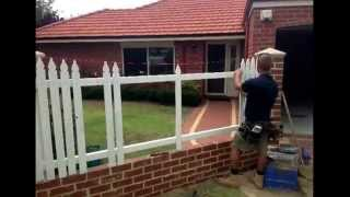 Picket Fencing - Bayswater. Perth