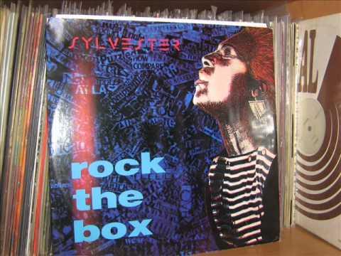 SYLVESTER   ROCK THE BOX DRUM BOX  A2  1984 COOLTEMPO  REPLE
