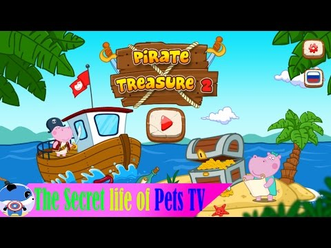 The Secret Life Of Pets - Exciting Adventures:Pirate's Treasure Hunter - Cartoons For Kids