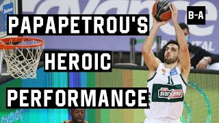 Papapetrou's Heroic Performance Couldn't Bring The W vs Promitheas | Full Highlights | 31.01.2021