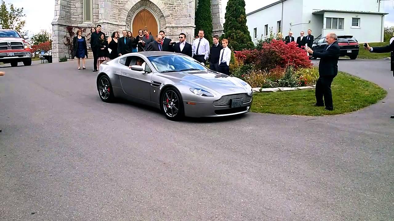 Aston Martin Wedding Car