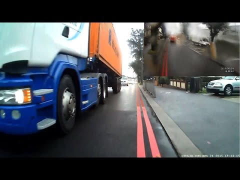 KYI4 CSV - Maritime Lorry - dangerous driving?