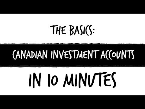 Canadian investment accounts explained in 10 minutes!