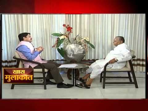 Mulayam Singh Yadav in conversation with ETV