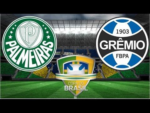 Palmeiras X Grêmio - JOGO COMPLETO - Copa do Brasil 2016 ...