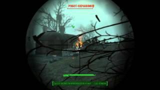 Fallout 4 Прохождение - Как убить Робота-Охранника