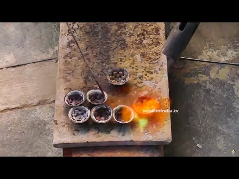 Gold Covering Works | Gold Jewellery Manufacturing | 1 Gram ROLDGOLD Making | Making Video
