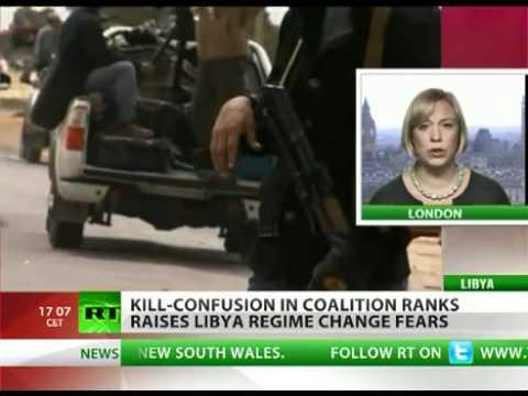 Kill-confusion in coalition raises Libya regime change fears