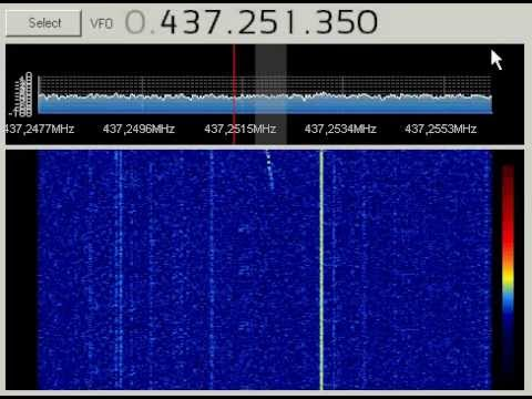 ESTCube-1 07.05.2013 05:59 UTC первый сигнал