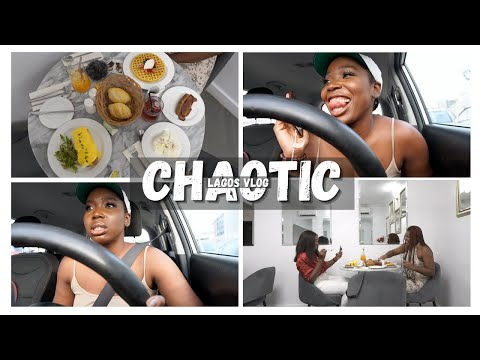 Breakfast with Edak, Losing my job and My car l Chaotic Lagos vlog