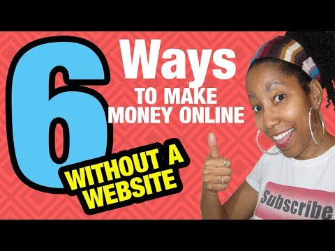 6 Free Ways to Make Money Online Without a Website