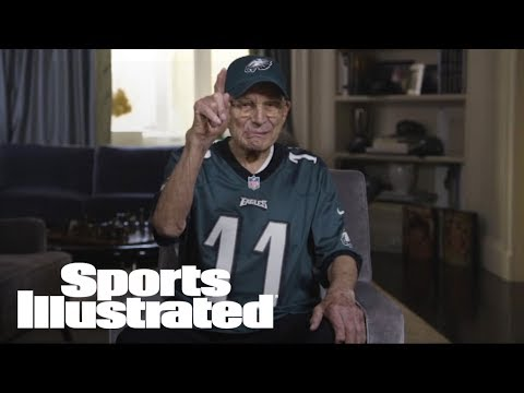 99-Year-Old Eagles Fan Ready For Super Bowl Title | SI Wire | Sports Illustrated