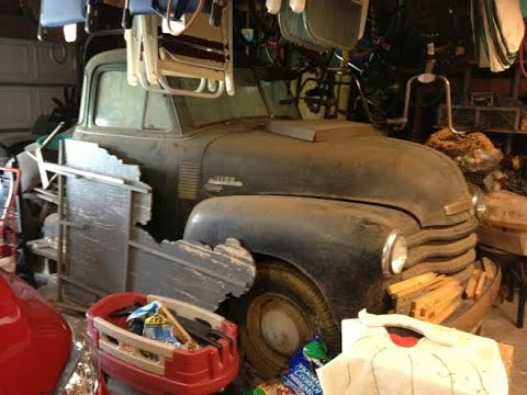 Texas Barn Find Survivor 1953 Chevy Truck 40 Years