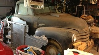Texas Barn Find Survivor 1953 Chevy Truck 40+ Years!
