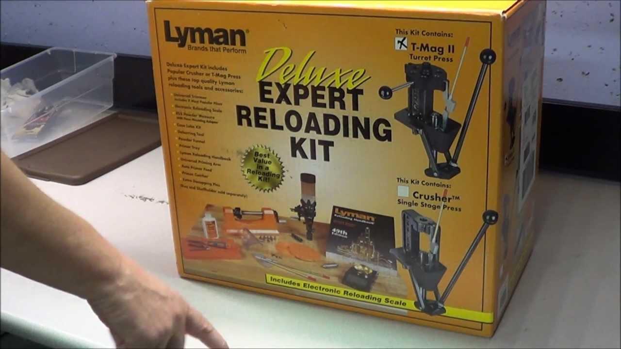 Lyman Deluxe Expert Reloading Kit