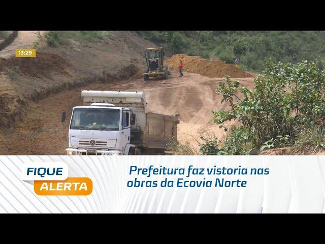 Prefeitura de Maceió faz vistoria nas obras da Ecovia Norte