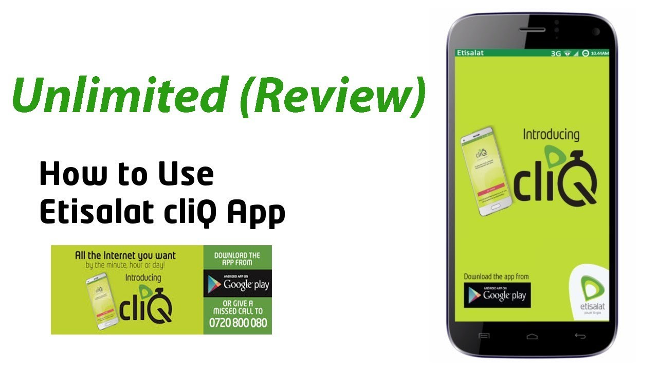 Mettsalat Etisalat Cliq Packages Are Not Unlimited Review