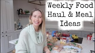 FOOD SHOPPING HAUL & FAMILY MEAL PLAN   KERRY WHELPDALE