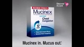 Mucinex 12 hour Parody