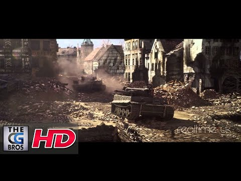 "CGI Animated Trailer HD: ""World of Tanks: Endless War"" - by RealtimeUK"