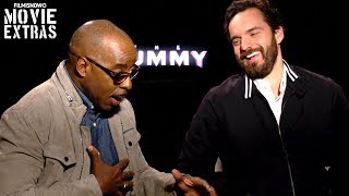 The Mummy (2017) Jake Johnson & Courtney B. Vance talk about their experience making the movie