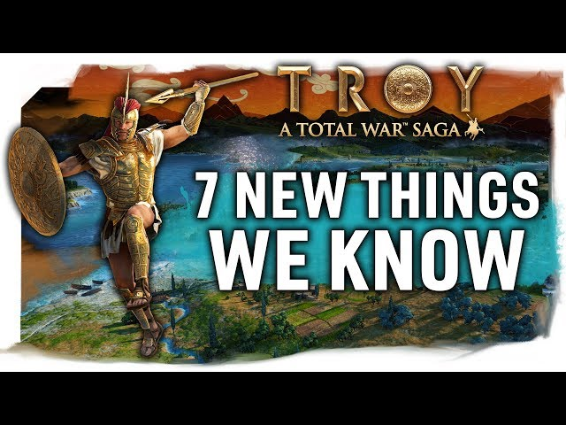 7 New Things We Know - Map Size, Agents, Fame, Finite Resources & More | TOTAL WAR SAGA: TROY