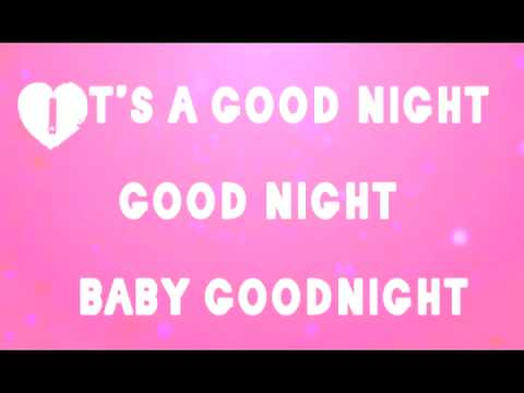 Tiffany Alvord and Chester See- (Kissed You) Good Night lyrics