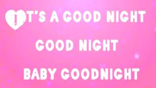 tiffany alvord and chester see kissed you good night lyrics
