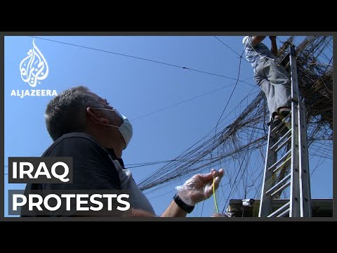 Iraqis protest over power cuts amid record summer temperatures