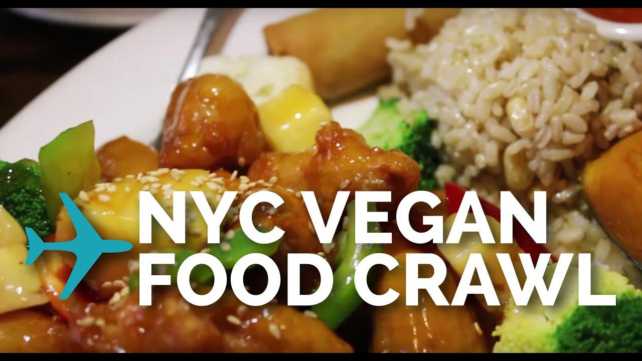 Nyc Vegan Food Crawl And Tour Youtube
