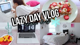 Lazy Day Routine: Snow Day! | Reese Regan