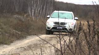 2015 BMW X3 xDrive28d Video Review