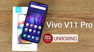 Vivo V11 Pro unboxing and quick review