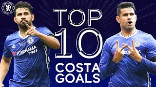 Diego Costa's 10 Best Chelsea Goals | Chelsea Tops