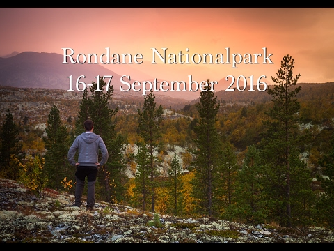 Rondane nationalpark- (Del 1 av 2) fotoresa 16-17 September 2016 - Norgeresa