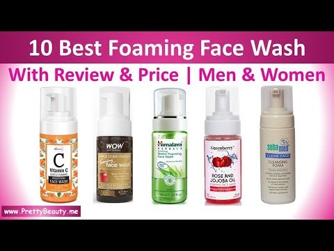 top-10-best-foaming-#face-wash-for-all-skin-type-|-review-&-price-|-#india