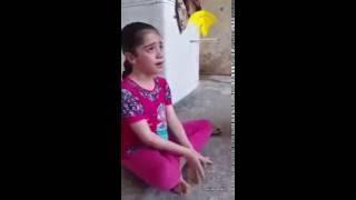 بكاء بنت عراقية على عصفور ميت