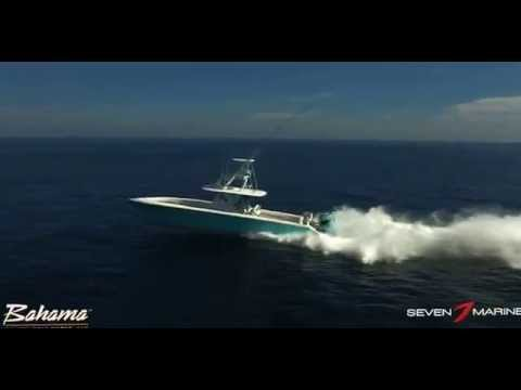 Bahama 41 and Seven Marine Triple 557's
