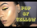 POP OF YELLOW CUT CREASE💛