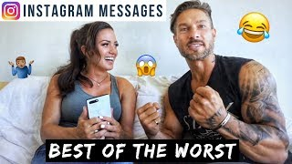 BEST OF THE WORST INSTAGRAM COMMENTS – (You Won't Believe This) DM's Read Aloud Ft Katie Corio: Pt 1