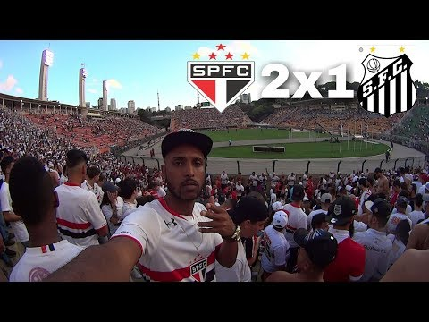 PESCARIA NO PACAEMBU SÃO PAULO 2x1 SANTOS