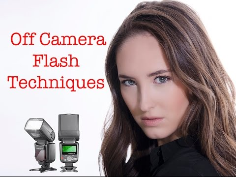 Strobist Photography Techniques - Off Camera Flash Photography Tutorial