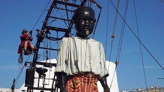 Un géant dans ma ville - La compagnie Royal de Luxe au Havre