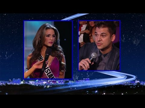 FLASHBACK: In 2012, Rob Kardashian Asked a Contestant If a Transgender Woman Could Win Miss USA