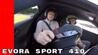 2017 Lotus Evora Sport 410 Test Drive