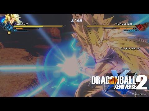 Dragonball Xenoverse 2: GT Kid Goku Is a Monster! YourEnd7 Vs. Randoms