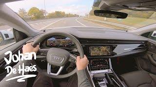 Audi Q8 50 TDI 286 hp POV test drive