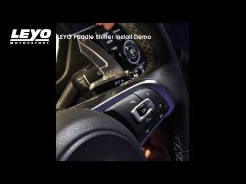 LEYO Paddle Shifter Install Demo