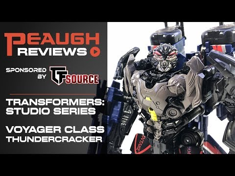 Video Review: Transformers Studio Series - Voyager THUNDERCRACKER