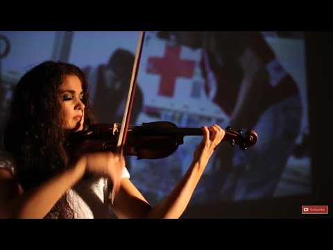 We Are the Championsviolin   Susan Holloway Red Cross Disaster Relief